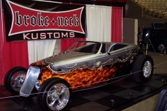 Sparky's 1933 Ford, paint by Brokeneck